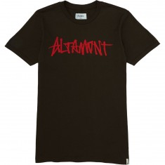 Altamont One Liner T-Shirt - Dark Chocolate