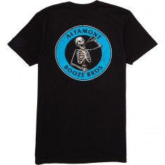 Altamont Booze Bros Skeleton T-Shirt - Black