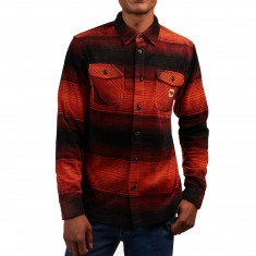 Thirty Two Reststop Polar Fleece Shirt - Oxblood