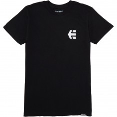 Etnies Mini Icon T-Shirt - Black/White