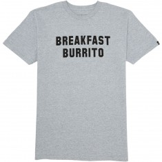Emerica Breakfast Burrito T-Shirt - Grey/Heather