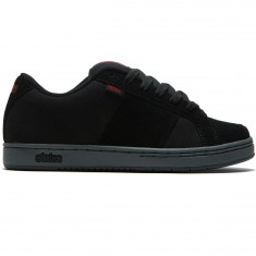 Etnies Kingpin Shoes - Black/Charcoal/Red
