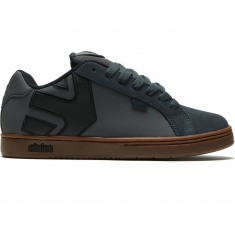 Etnies Fader Shoes - Dark Grey/Black/Gold