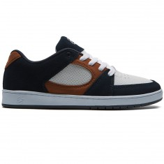 eS Accel Slim Shoes - Navy/Tan/White