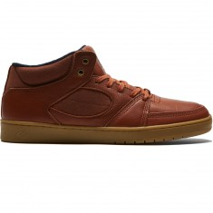 eS Accel Slim Mid Shoes - Brown/Gum/Gold