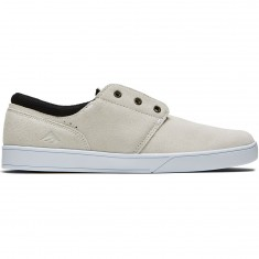 Emerica The Figueroa Shoes - White/White/Black