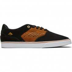 Emerica The Reynolds Low Vulc Shoes - Black/Tan
