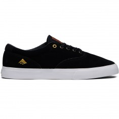 Emerica Provost Slim Vulc Shoes - Black/White/Gum