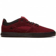 Emerica The Hsu Low Vulc Shoes - Burgundy