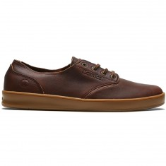 Emerica Romero Hi Reserve X Truman Shoes - Brown/Gum/Brown