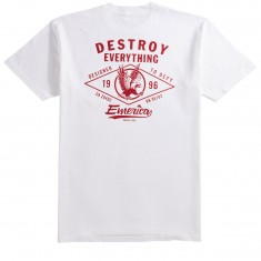 Emerica Destroy Pocket T-Shirt - White
