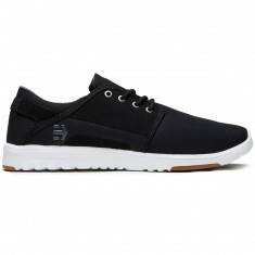 Etnies Scout Shoes - Black/Charcoal/Gum