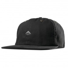 Emerica Try Strapback Hat - Black