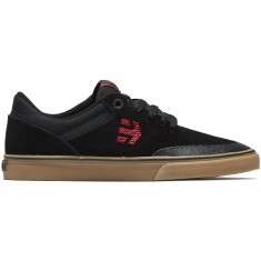 Etnies Marana Vulc Shoes - Black/Red/Gum