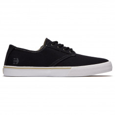 Etnies Jameson Vulc LS Shoes - Black/White/Grey