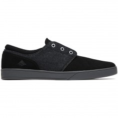 Emerica The Figueroa Shoes - Black/Grey/Silver