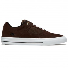 Emerica Reynolds 3 G6 Vulc Shoes - Brown/White