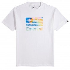 Emerica Pure Flag T-Shirt - White