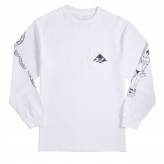 Emerica Toy Long Sleeve T-Shirt - White