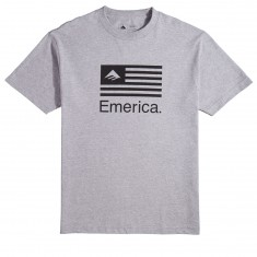 Emerica Pure Flag T-Shirt - Grey/Heather