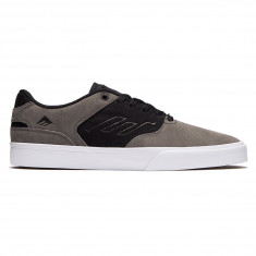 Emerica The Reynolds Low Vulc Shoes - Grey/Black/White