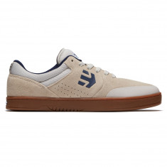 Etnies Marana X Happy Hour Shoes - White/Gum