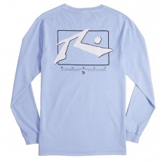 Rusty TV Screen 5 Longsleeve T-Shirt - Pale Slate