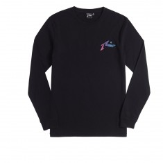 Rusty Ripple Longsleeve T-Shirt - Black