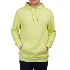 Rusty TV Screen 5 Hoodie - Pale Lime