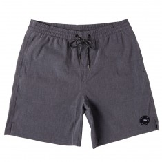Rusty Pura Elastic All Day Boardshorts - Black
