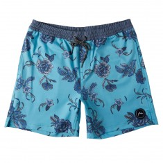 Rusty Heathen Elastic Boardshorts - Maui Blue