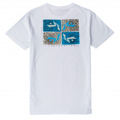 Rusty Just Surfing 2 T-Shirt - White
