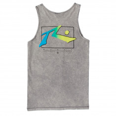Rusty TV Screen 6 Tank Top - Stone Grey