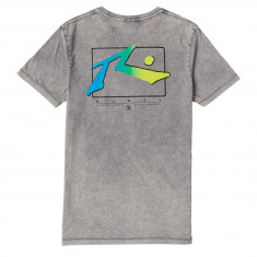 Rusty TV Screen 6 T-Shirt - Stone Grey