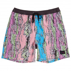 Rusty Liquified Elastic Boardshorts - Note Pink