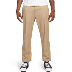 Obey Straggler Flooded Pants - Khaki