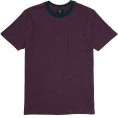 Obey Wisemaker Pocket T-Shirt - Forest Green Multi