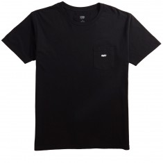 Obey Jumbled Pocket T-Shirt - Black