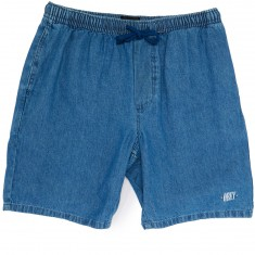 Obey Keble Shorts - Light Blue