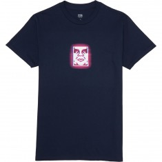 Obey Immersion T-Shirt - Navy
