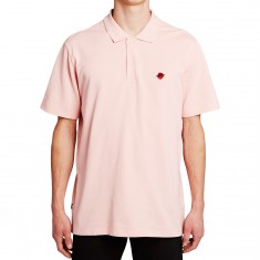 Obey Roses Polo Shirt - Pink