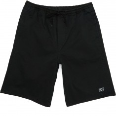 Obey Heritage Shorts - Faded Black