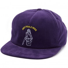 Obey Cajon Snapback Hat - Purple