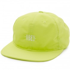 Obey Courtland 6 Panel Hat - Green