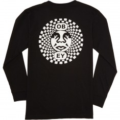 Obey Dance Party Long Sleeve T-Shirt - Black