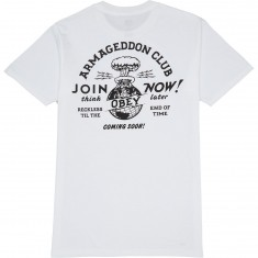 Obey Armageddon Club T-Shirt - White