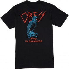 Obey Living In Darkness T-Shirt - Black