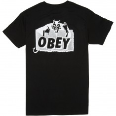 Obey Devil T-Shirt - Black