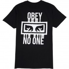 Obey No One T-Shirt - Black