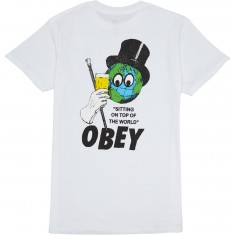 Obey On Top Of The World T-Shirt - White